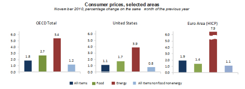 OECD Country Inflation Nov. 2010