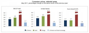 May Inflation Surges to 3.2% in OECD Countries