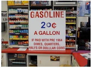 Gasoline 20 Cents A Gallon