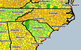 Gas Prices North & South Carolina