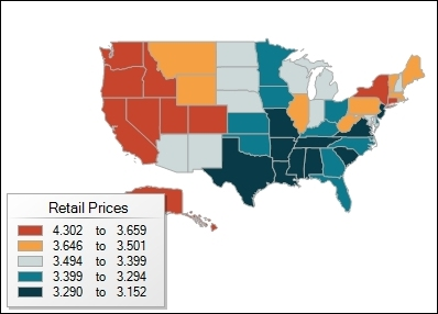 Aug 2014 Gasoline Prices