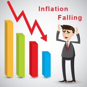 Falling Inflation = Deflation