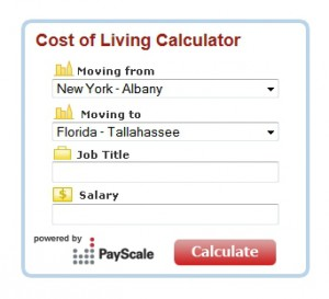 Comparing the Cost of Living When Retiring (or Moving)