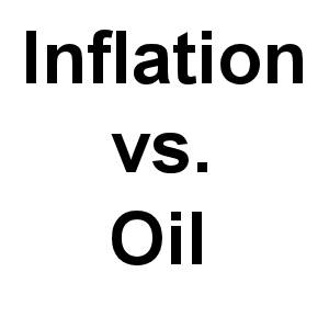 Inflation vs Oil