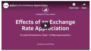 Exchange Rate Appreciation