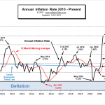 Annual Inflation Rate since 2010